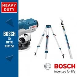 Bosch GOL 26 D Optikai Szintező + BT160 állvány + GR500 mérőléc