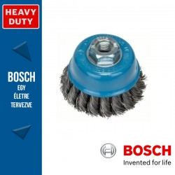 Bosch Fazékkefe fonott dróttal, acél M14 65 mm, 0,35 mm