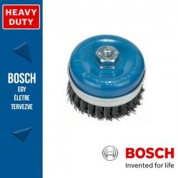 Bosch Fazékkefe fonott dróttal, acél M14 100 mm, 0,5 mm