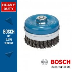Bosch Fazékkefe fonott dróttal, acél M14 100 mm, 0,8 mm