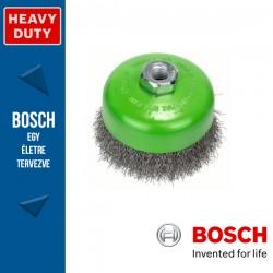 Bosch Fazékkefe hullámosított dróttal, nemesacél M14 100 mm, 0,3 mm