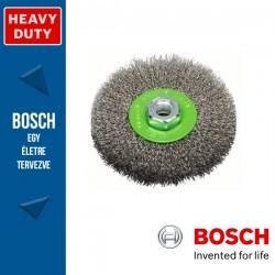 Bosch Korongkefe hullámosított dróttal, nemesacél M14 115 mm, 0,3 mm