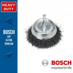 Bosch Fazékkefe hullámosított dróttal, acél 70 mm, 0,3 mm, szár: 6 mm