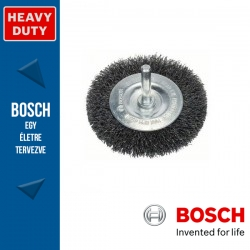 Bosch Korongkefe hullámosított dróttal, acél 75 x 10 x 0,2 mm, szár: 6 mm
