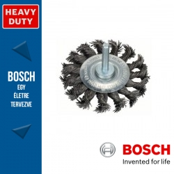 Bosch Korongkefe fonott dróttal, acél 75 x 13 x 0,5 mm, szár: 6 mm