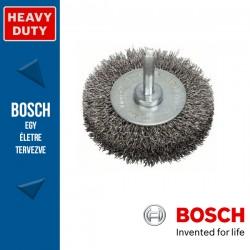 Bosch Korongkefe hullámosított dróttal, nemesacél 70 x 15 x 0,3 mm, szár: 6 mm