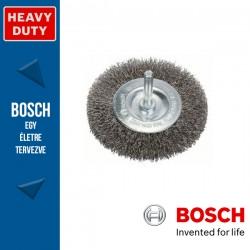 Bosch Korongkefe hullámosított dróttal, nemesacél 80 x 10 x 0,2 mm, szár: 6 mm