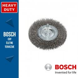 Bosch Korongkefe hullámosított dróttal, nemesacél 100 x 10 x 0,3 mm, szár: 6 mm