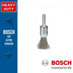 Bosch Ecsetkefe hullámosított dróttal, nemesacél 15 mm, 0,2 mm, szár: 6 mm