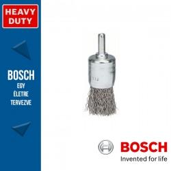 Bosch Ecsetkefe hullámosított dróttal, nemesacél 15 mm, 0,3 mm, szár: 6 mm