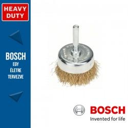 Bosch Fazékkefe hullámosított dróttal, réz 50 mm, 0,2 mm, szár: 6 mm