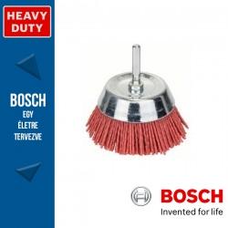 Bosch Fazékkefe nejlon dróttal 75 mm, 1,1 mm, szár: 6 mm