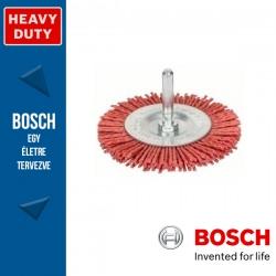 Bosch Korongkefe nejlon dróttal 75 mm, 1 mm, szár: 6 mm