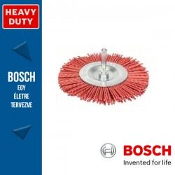 Bosch Korongkefe nejlon dróttal 100 mm, 1 mm, szár: 6 mm