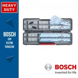 Bosch Tough Box masszív tárolódoboz 20 db-os szablyafűrészlap készlet fémhez