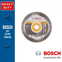 Bosch Standard for Universal Turbo gyémánt vágótárcsák sarokcsiszolókhoz 150 x 2,5 mm, 22,23 mm