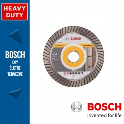 Bosch Best for Universal Turbo gyémánt vágótárcsa sarokcsiszolókhoz 125 x 2,2 mm, 22,23 mm