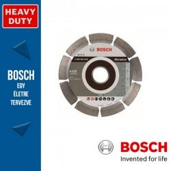 Bosch Standard for Abrasive gyémánt vágótárcsa sarokcsiszolókhoz 125 x 1,6 mm, 22,23 mm
