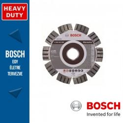 Bosch Best for Abrasive gyémánt vágótárcsa sarokcsiszolókhoz 125 x 2,2 mm, 22,23 mm