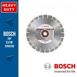 Bosch Best for Abrasive gyémánt vágótárcsa egyéb gépekhez 350 x 3,2 mm, 25,4