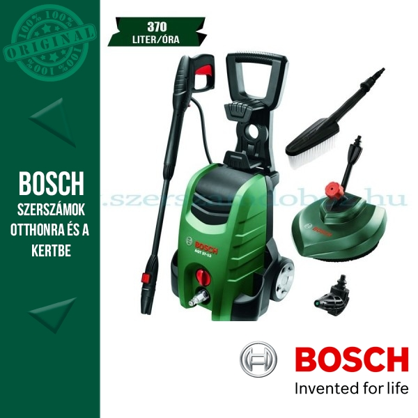 Bosch AQT 37-13+ Magasnyomású mosó