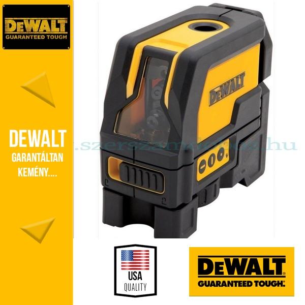 DeWalt DW0822-XJ Önbeálló keresztvonalas -és pontlézer