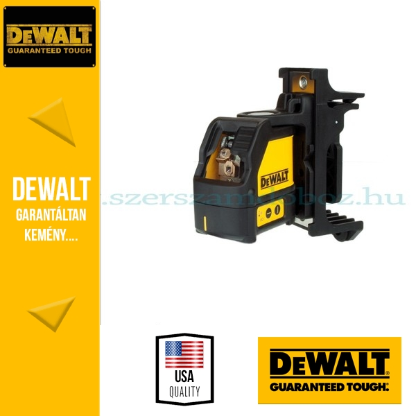 DeWalt DW088K-XJ Önbeálló keresztsugaras pontlézer