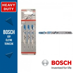 Bosch Szúrófűrészlap T 118 G Basic for Metal - 3db