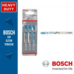 Bosch Szúrófűrészlap T 118 A Basic for Metal - 3db