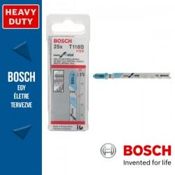 Bosch Szúrófűrészlap T 118 B Basic for Metal - 25db