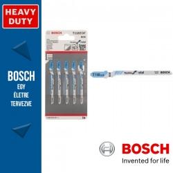 Bosch Szúrófűrészlap T 118 EOF Flexible for Metal - 5db