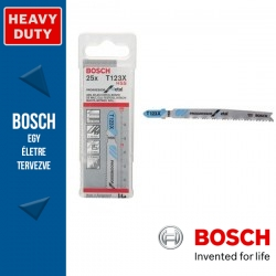 Bosch Szúrófűrészlap T 123 XF Progressor for Metal - 25db