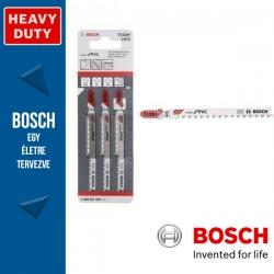Bosch T 102 H szúrófűrészlap Clean for PVC - 3db