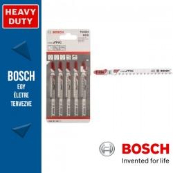Bosch T 102 H szúrófűrészlap Clean for PVC - 5db