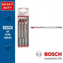Bosch T 302 H szúrófűrészlap Clean for PVC - 3db
