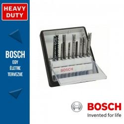 Bosch 10 részes Robust Line szúrófűrészlap készlet, fához és fémhez
