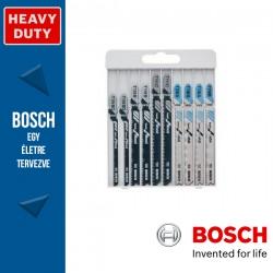 Bosch 10 részes Basic for Wood and Metal szúrófűrészlap készlet