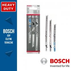 Bosch 3 részes szúrófűrészlap készlet, Progressor (T befogatás)