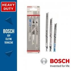 Bosch 3 részes szúrófűrészlap készlet, Progressor (U befogatás)