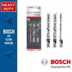 Bosch 3 részes szúrófűrészlap készlet, Special for Laminate (U befogatás)