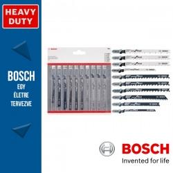 Bosch 10 részes szúrófűrészlap készlet fához