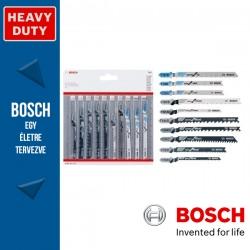 Bosch 10 részes szúrófűrészlap készlet fához és fémhez