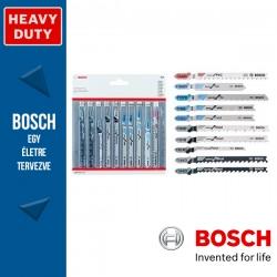 Bosch 10 részes vegyes szúrófűrészlap készlet
