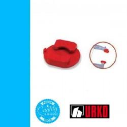 URKO felületvédő papucs 40x10 szárú párhuzamszorítóhoz U4003-P-hez