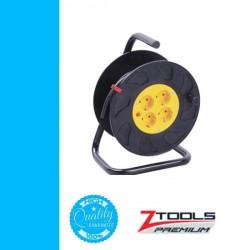 Z-TOOLS kábeldob műa, PVC szig. kábellel 25m 3x1,5 230V