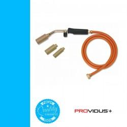 PROVIDUS forrasztó készlet 4r. markolat + 3db égőfej tömlővel AX086K