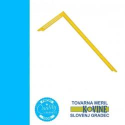 TOVARNA ácsderékszög jelölőlyukkal 800mm