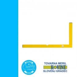 TOVARNA iparos derékszög 2 libellás 1200x800mm