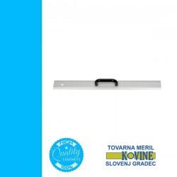 TOVARNA alumínium vonalzó, fogantyús 600mm