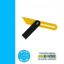 TOVARNA szögmásoló (sáskaláb) acél-alu 250x150mm